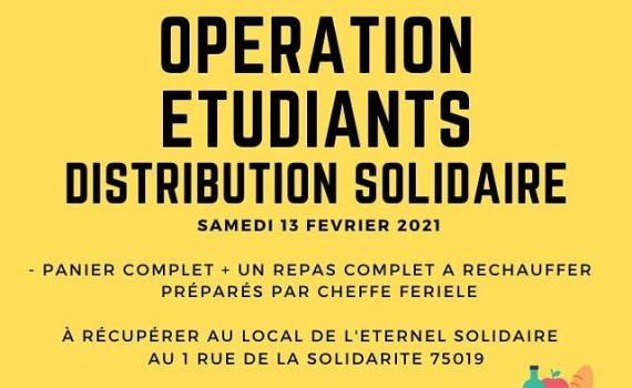 distribution solidaire étudiante 2021