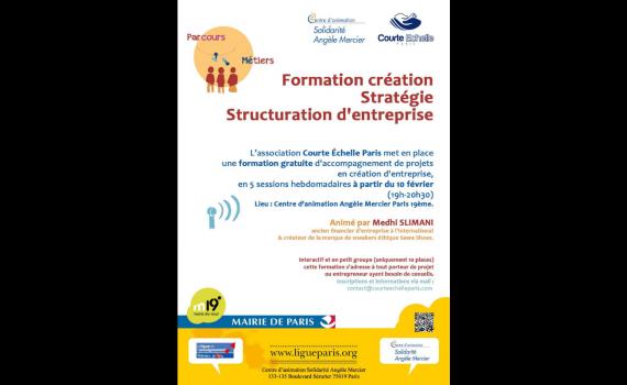 Association Courte Echelle - formation de creation d'entreprise